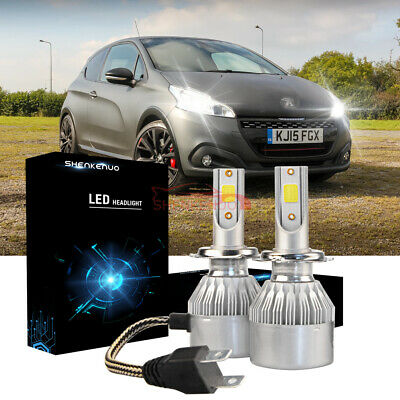 2x Peugeot Expert Genuine Osram Original High//Low Dip Beam Headlight Bulbs Pair