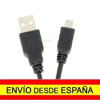 Cable Mini USB a USB Macho-Macho NEGRO 50 cm para GPS ¡Desde...