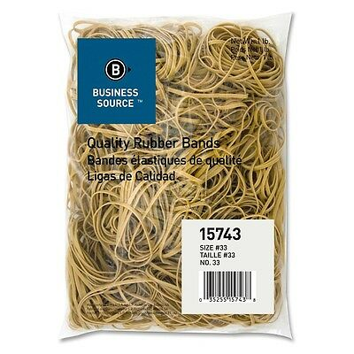 Rubber Bands Size 33 3 12 X 18 X 132 Inches Business Source 15743 1 Lb