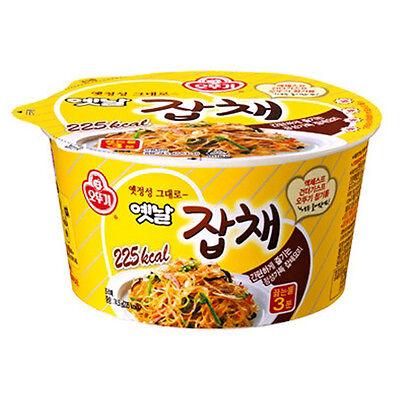 3Pcs JAPCHAE Korean Traditional Stir-fry Noodles Cup Instant Food