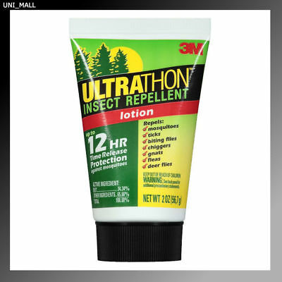 3M New Ultrathon Insect Repellent Lotion, 2 oz, Made in USA