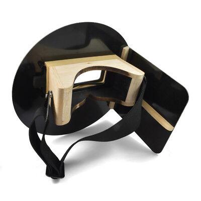 Damaged Wendys Pancake Welding Hood Helmet W Strap - Left Handed - Black