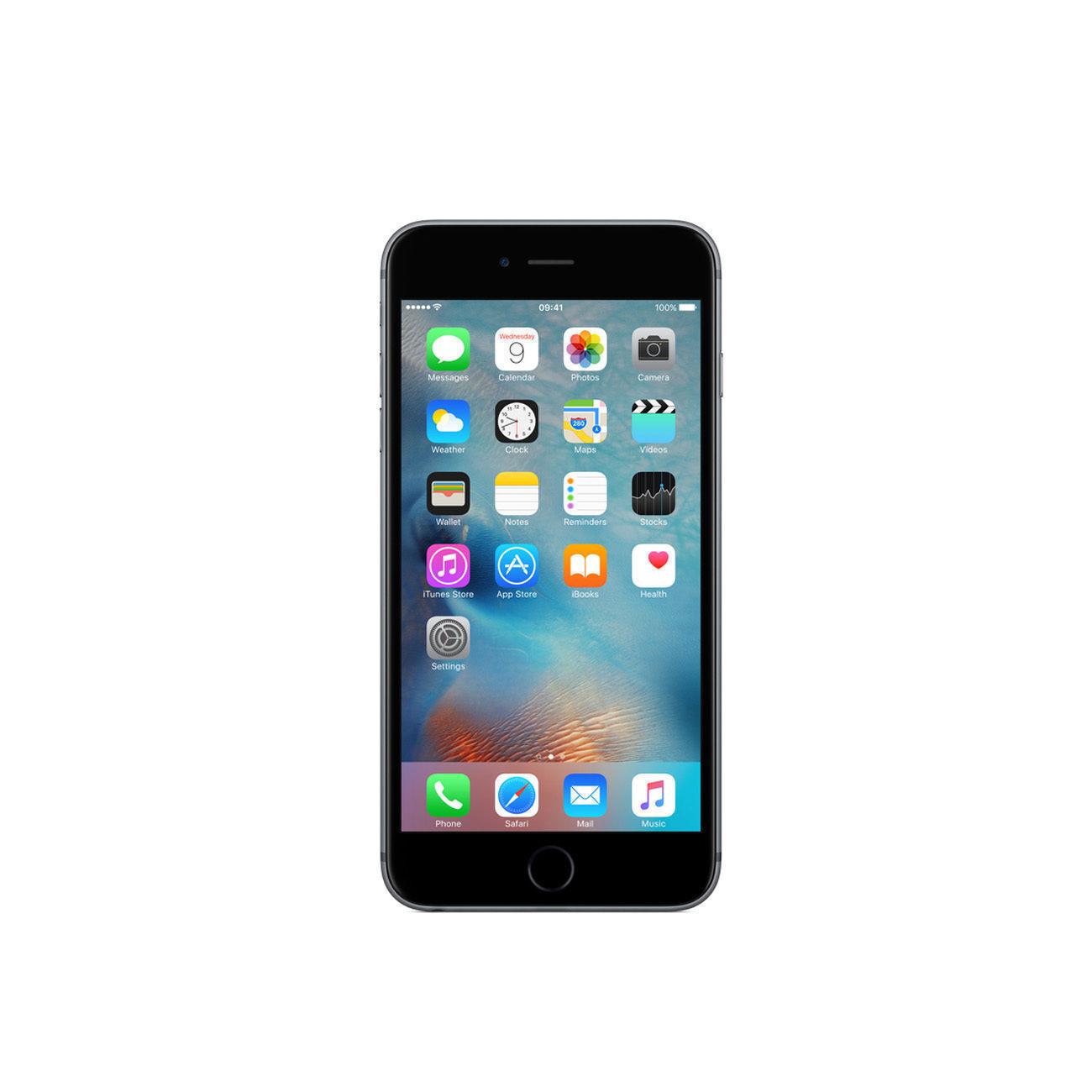 b79f4862d Apple iPhone 6s Plus - 128GB - Space Gray (Verizon) A1687 (CDMA + GSM) for  sale online
