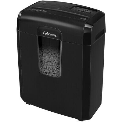 Fellowes 4776001 Powershred 8mc Micro-cut Shredder -- Shreds 8 Sheets Per Pass
