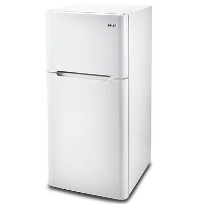 NEW 4.5 cu ft Refrigerator Mini Compact College Office Small Dorm Fridge, White