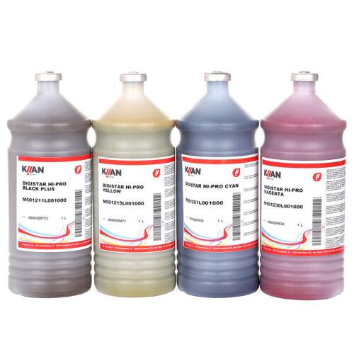 KIIAN Sublimation Ink - Hi Pro Set, 4 liters