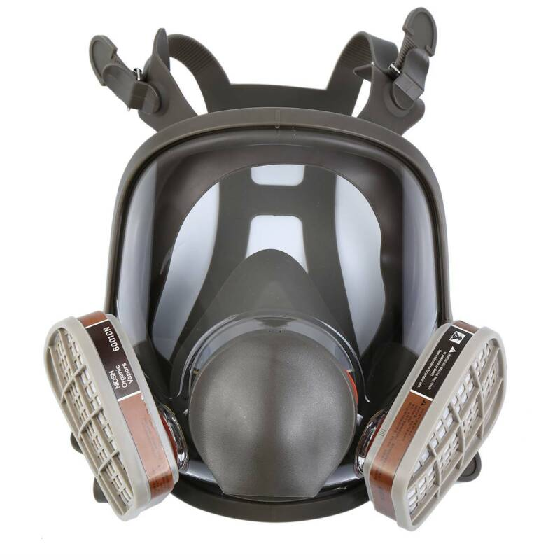 Full Face Painting Spraying Gas Mask For 6800 Facepiece Resp