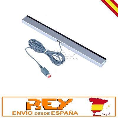Barra SENSOR Infrarrojos para Wii CON CABLE Gris Mate Nuevo n72