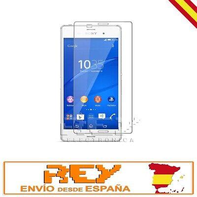 Protector Pantalla para SONY XPERIA Z3 Cristal Templado Vidrio Premium p269