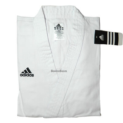 New adidas Karate Student Uniform Set Gi Beginner's Jacket&Pants-size 4(170 cm)