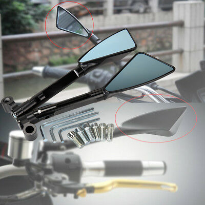 CNC ALUMINUM REAR SIDE VIEW MIRRORS FOR SUZUKI HONDA KAWASAKI <em>YAMAHA</em> K