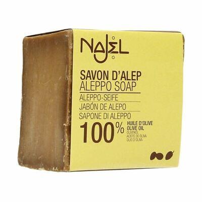 Najel Traditional Aleppo Soap 100% Olive Oil - 200g  100% Olive Oil Soap
