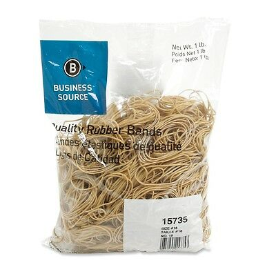 Rubber Bands Business Source Size 18 - 3 L X 62.5 Mil W - 1 Lb 15735