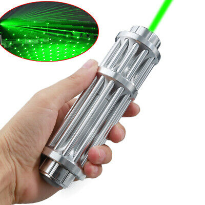50miles 532nm Green Laser Pointer Pen Beam Light Zoom Focus Us Stock