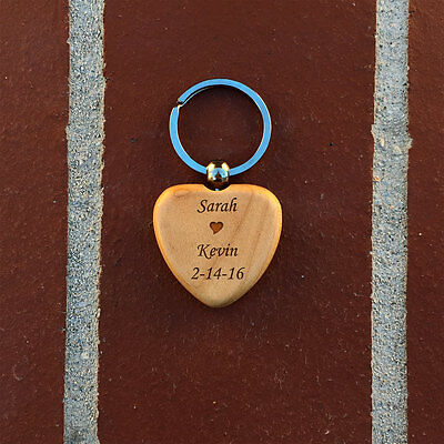 Wooden Key chain, Personalized key chain, gift ideacustom keychain, custom gift](Custom Key Chain)