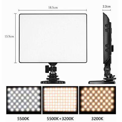 UK Yongnuo YN-300 Air Pro LED Video Light 3200K-5500K for Nikon Canon Camera DV