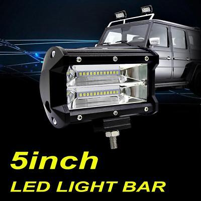 "5inch 72W CREE LED Work Light Bar Fogs Spot Offroad Driving Pods ATV UTV 4"" 6"""