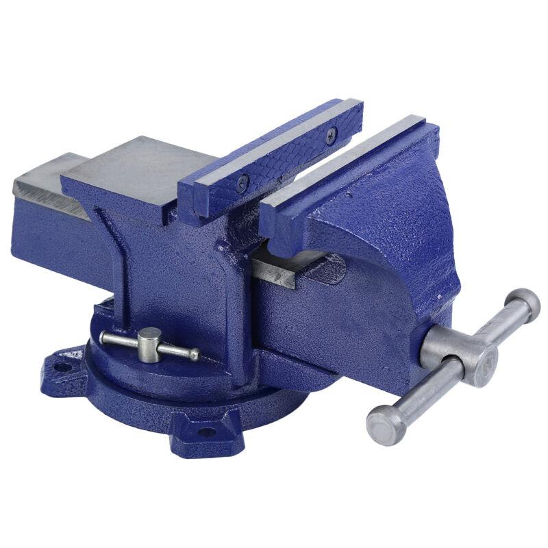 "6"" Mechanic Bench Vise Table Top Clamp Press Locking Ultrali"