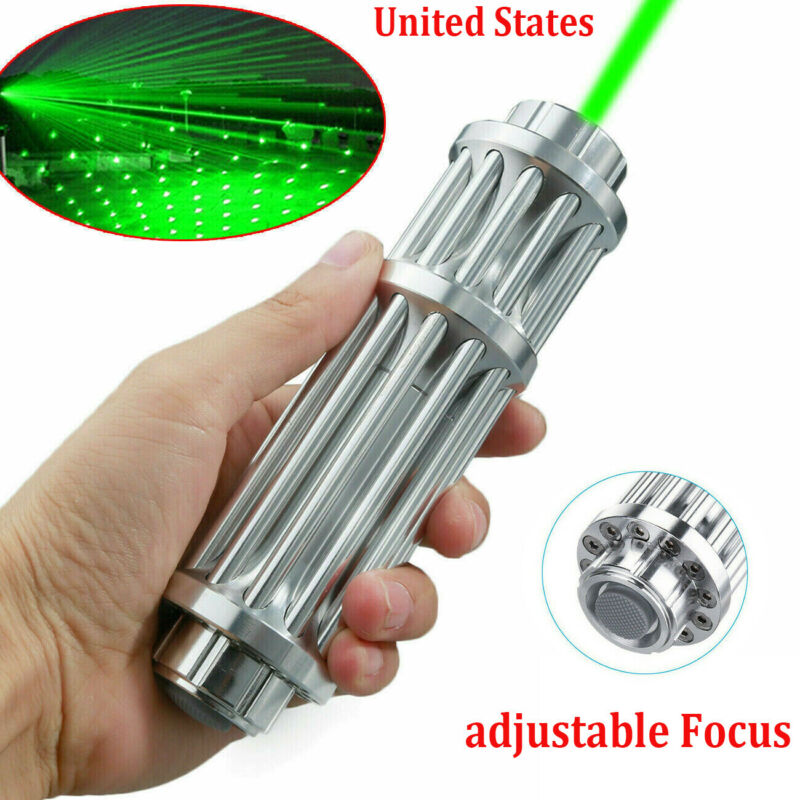Green Laser Pointer Pen 1000Miles 532nm Visible Beam Light Zoom Focus Lazer