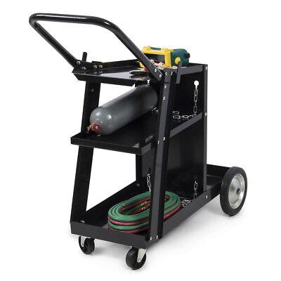 MIG TIG ARC Welder Welding Cart Universal Storage Tanks & Accessories Wheels HD