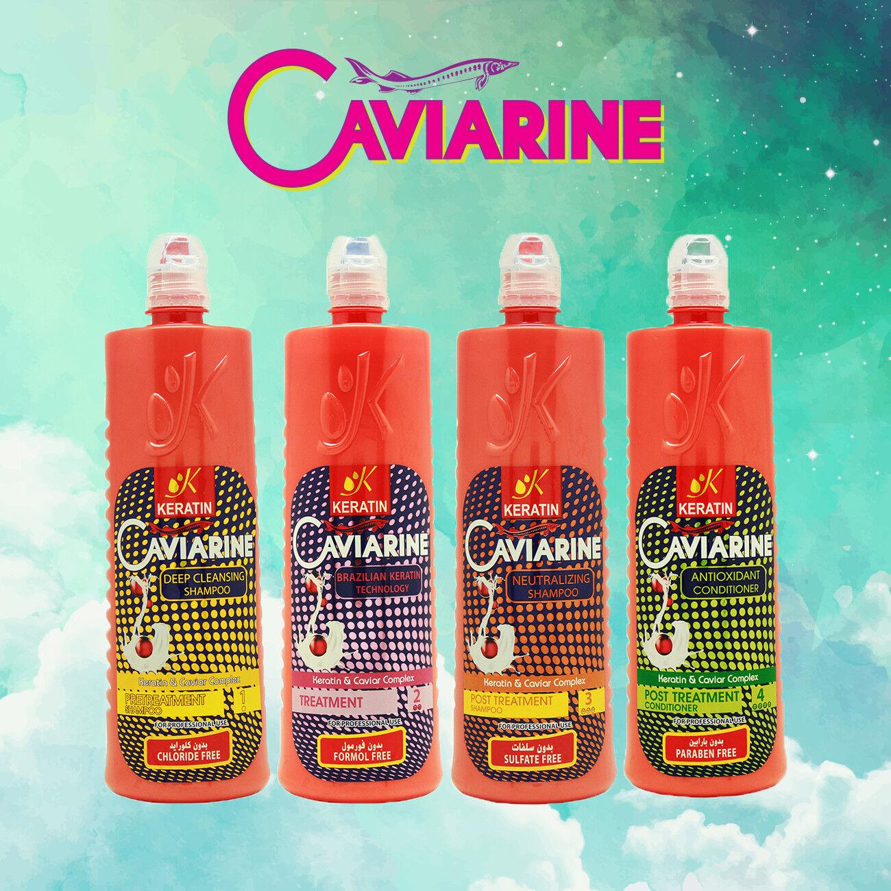 100%Authentic Brazilian Hair Keratin Caviarine Treatment Saf