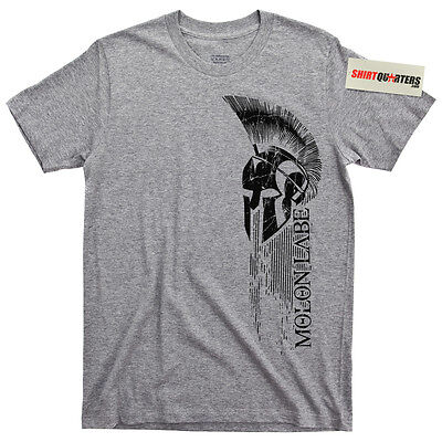 Spartan Sparta warrior the 300 King Leonidas Marines movie blu ray tee t shirt - The 300 Movie