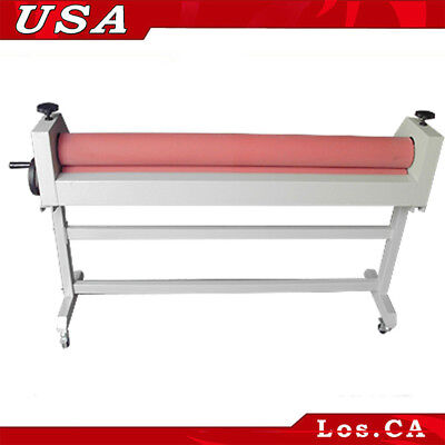 51in 1300mm Cold Laminating Machine Laminator With Stander Wooden Package