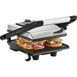 Bella Panini Press Gourmet Sandwich Maker - Polished Stainless Steel (13267)