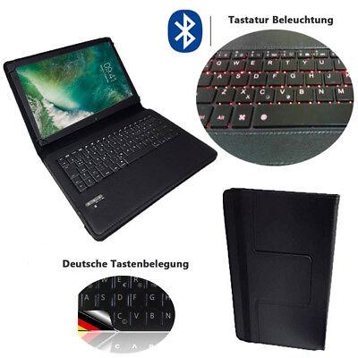 Tablet-Tastatur Hülle mit licht Acer Iconia One 10 B3 A32 Qwertz Bluetooth LT1 Acer Iconia Mit Tastatur