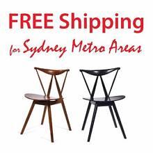 40% OFF - Vilhelm Wohlert Style Piano Chair (Set of 4) Zetland Inner Sydney Preview