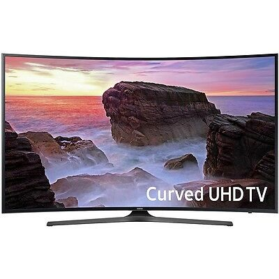 Samsung Un65mu6500fxza Curved 65  4K Hdr Ultra Hd Smart Led Tv  2017 Model
