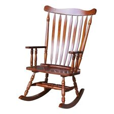 "Colonial Cherry Finish Rocking Chair - 28""W x 36""D x 44.5 ..."
