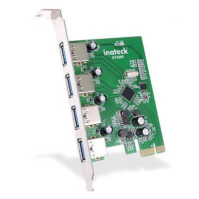 Inateck KT4005 USB 3.0 Karte 4 usb Pci Expresskarte Keine Stromanbindung mehr