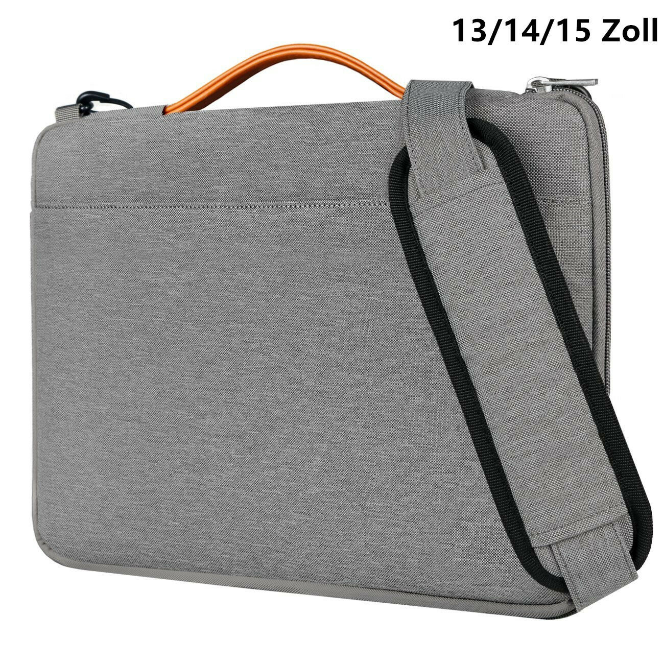 Inateck 13-15 Zoll Schultertasche wasserdichte Laptop Hülle Notebooks Ultrabooks