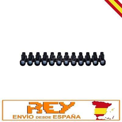 Regleta Empalmes 12 Secciones para Cables de 16mm Conexión Eléctrica 30A v546