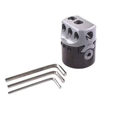2 50mm Boring Head 12mm To 100mm Lathe Boring Bar Milling Holder For Mt2 Mt3 R8