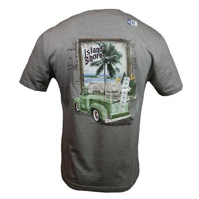 Pch Mens T Shirt  Island Shores  Pacific Coast Highway Cruising Surf Bahama Nwt