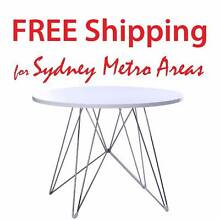SALE - Eames Style Eiffel Dining Table (dia 100cm) Zetland Inner Sydney Preview