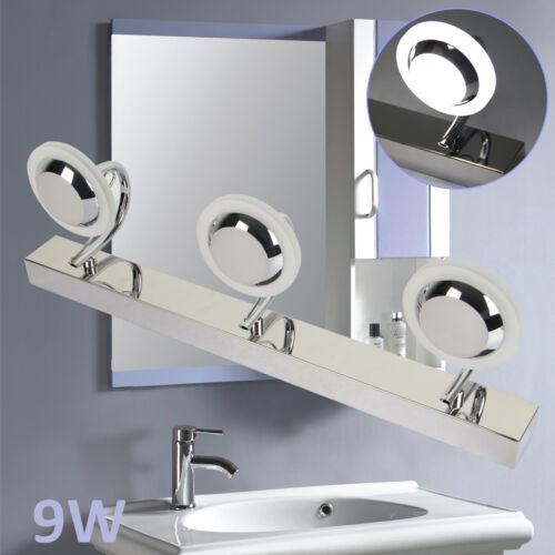 Applique LED Lampada Specchio Bagno Lampada da Parete Disegno Nobile Moderno 9W