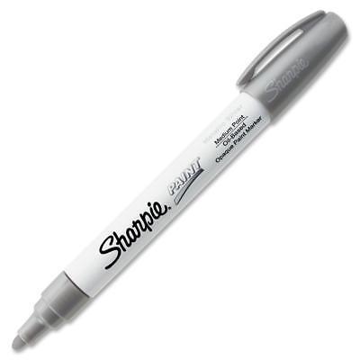 Sharpie Permanent Paint Marker Medium Point Silver 35560