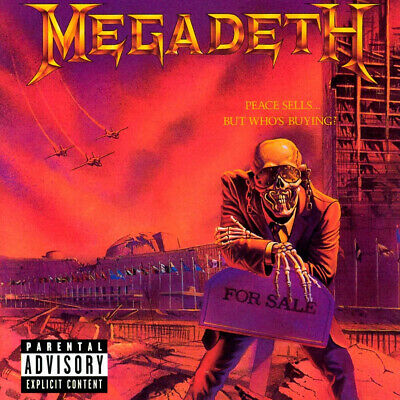 Megadeth 'Peace Sells... But Who's Buying?' LP Black Vinyl - NEW &...