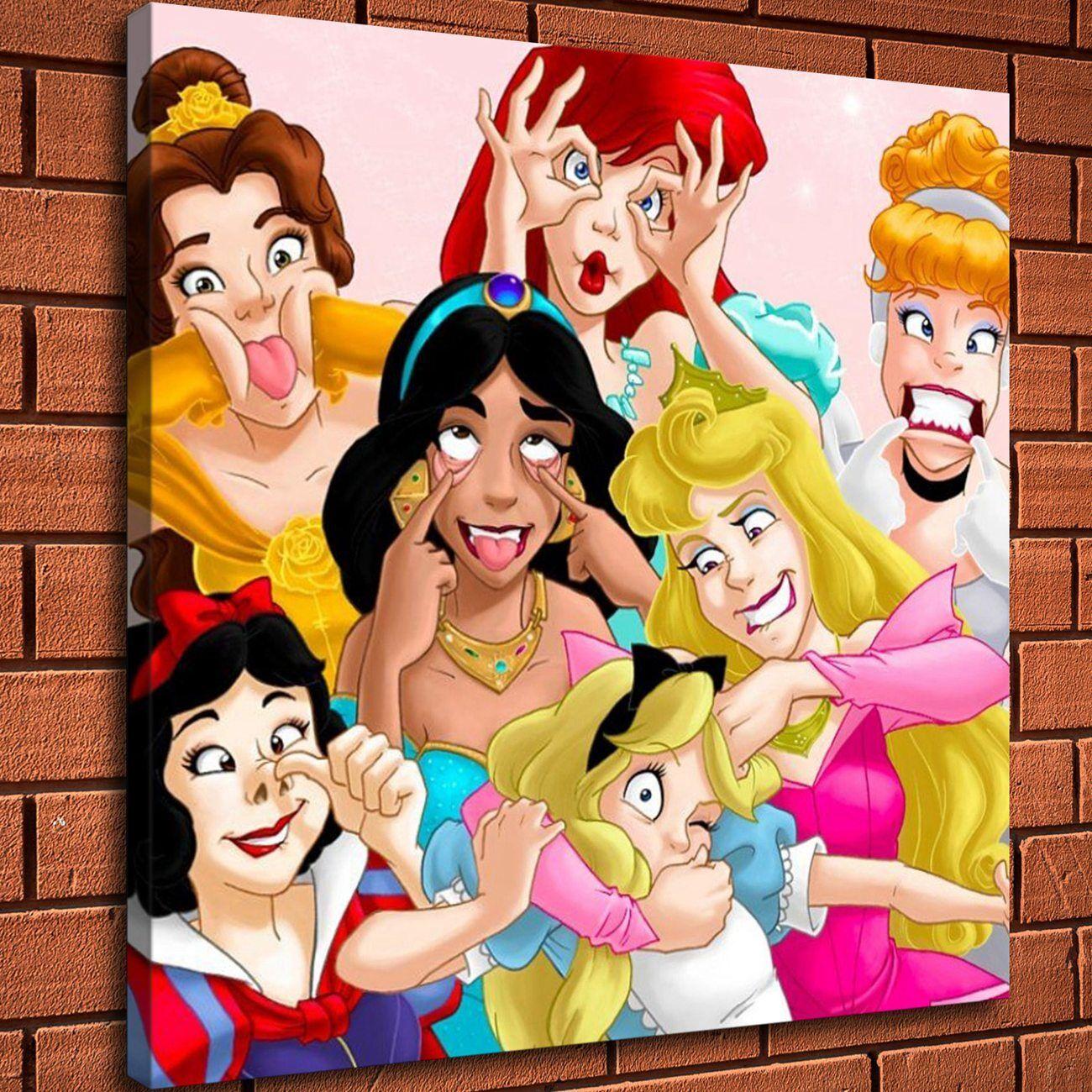 Картинки с принцессами из мультиков с надписями