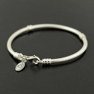 Authentic-Genuine-Pandora-Lobster-Clasp-Bracelet-18cm-590700HV-18