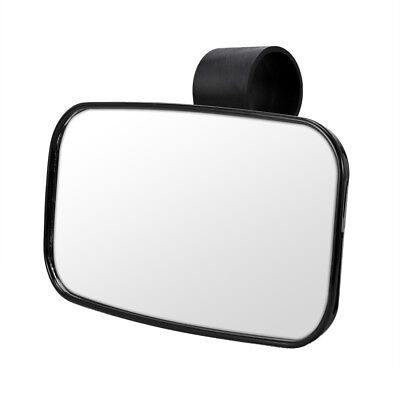Universal Center Mirror for UTV Off Road Large Adjustrable Wide Rear Clear View