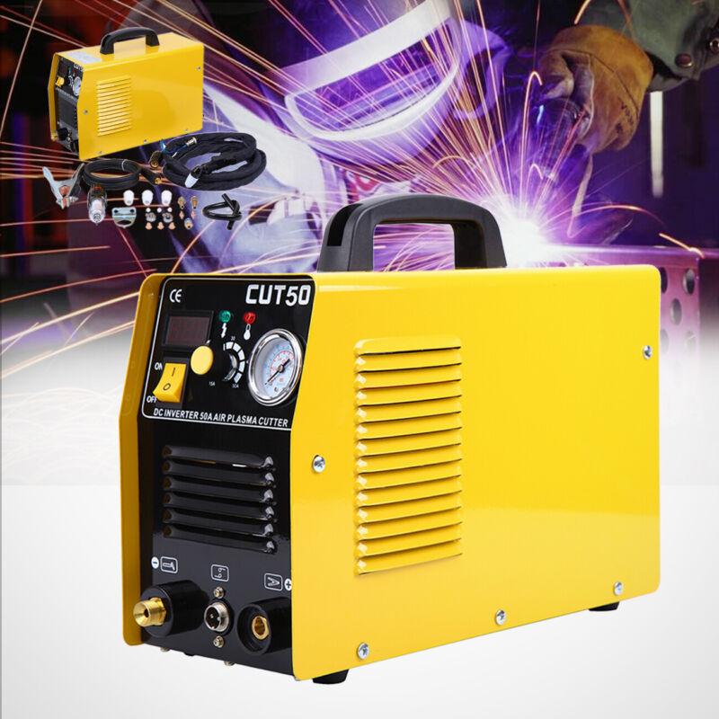 Plasma Cutter 50A Plasmaschneider Luftschneiden CUT50 & Zubehör