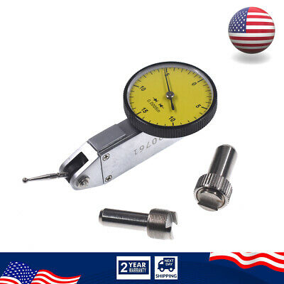 Precision Yellow 0.030 Test Indicator 0.0005 Gr. Dial Reading 0-15-0 New Usa