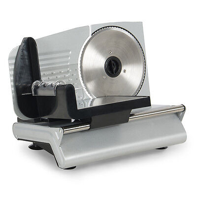 "Meat Slicer 7.5"" Blade Home Deli Food Slice Premium Quality Kitchen Countertop"