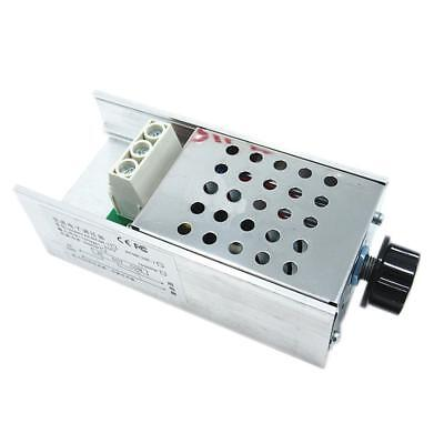 Scr Voltage Regulator Motor Speed Controller Dimmer Thermostat 10000w Ac110-220v