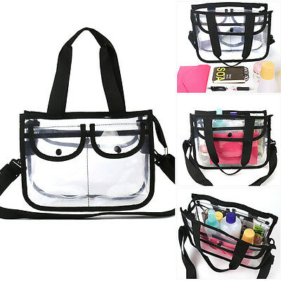 Cosmetic Makeup Toiletry Clear Travel Wash Bag Holder Pouch Set Kit Organizer