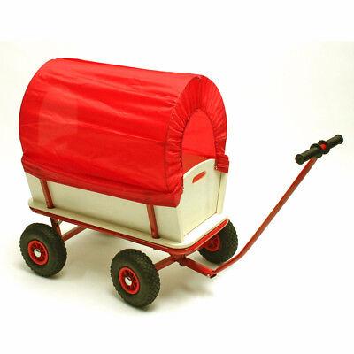Bollerwagen mit Plane bis max. 150 kg Handwagen Planwagen Transportwagen Karre